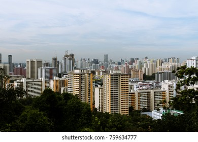 Singapore's Housing Estate from Mount Faber