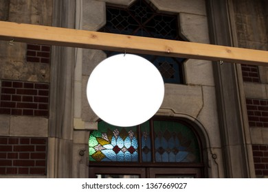 Singboard mockup - background