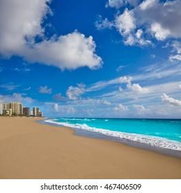 Singer Island beach at Palm Beach Florida in USA