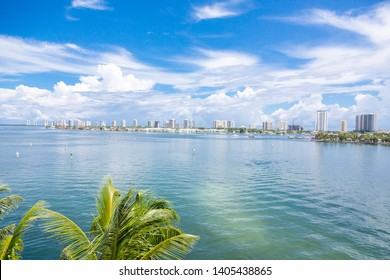 Singer Island skyline and water view