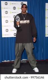 Singer JAY-Z at the Radio Music Awards at the Aladdin Hotel & Casino, Las Vegas. He won the award for Hip/Hop Rhythmic Artist of the Year. 04NOV2000.   Paul Smith / Featureflash