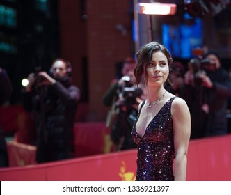 Singer Lena Meyer-Landrut attends the 'Grace a Dieu' premiere during the second day of the 69th Berlinale International Film Festival in Berlin, Germany on February 08, 2019.