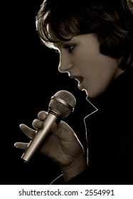 a singer is salient in a night-club