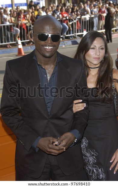 seal and girlfriend