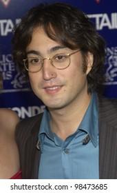 Singer SEAN LENNON at the Los Angeles premiere of Wonderland. Sept 24, 2003  Paul Smith / Featureflash