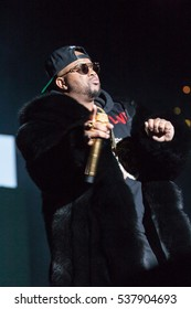 Singer and Songwriter The Dream performs at the 2nd annual V103 Winterfest on December 10th 2016 at the Philips Arena in Atlanta, Georgia- USA
