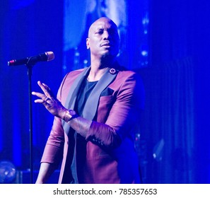 Singer Tyrese performs at the 34th annual UNCF Atlanta Mayor's Masked Ball on Saturday, December 16th 2017 in Atlanta, Georgia at the Marriott Marquis