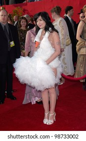 Singer/actress BJORK at the 73rd Annual Academy Awards in Los Angeles.