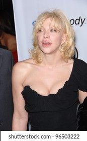 Singer/actress COURTNEY LOVE at music mogul Clive Davis' annual pre-Grammy party at the Beverly Hilton Hotel. February 7, 2006  Beverly Hills, CA  2006 Paul Smith / Featureflash