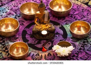 Gesangschüssel oder tibetische Schüssel