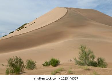 Singing Dunes in Kazakhstan.