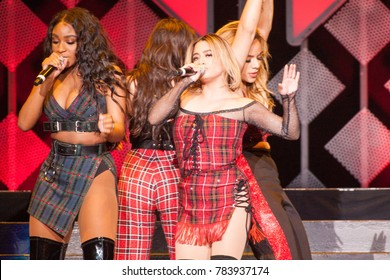 Singing Group Fifth Harmony performs at the Power 96.1 iHeartRadio 2017 Jingle Ball in Atlanta Georgia on December 15th 2017 at the Phillips Areana