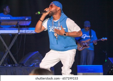 Singing Group Jagged Edge performs at the All ATL Show on June 3rd, 2017 at the Historic Fox Theater in Atlanta, Georgia - USA
