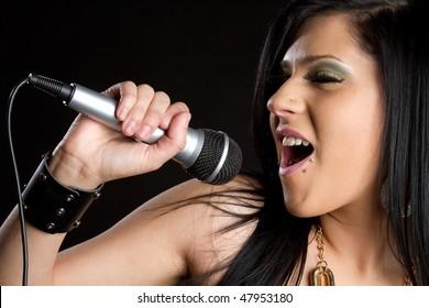 Singing Teen