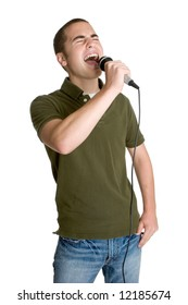 Singing Young Man