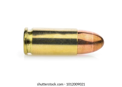 single cartridge 9 mm. pistols ammo, full metal jacket