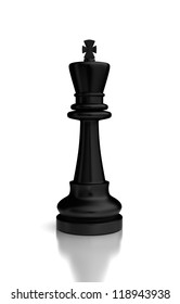 Single Chess Queen (high resolution computer generated image)
