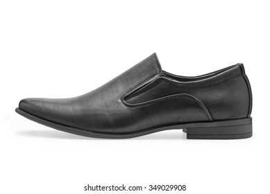a2ba87927 Single of classical black leather shoes for men