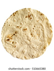 single corn tortilla