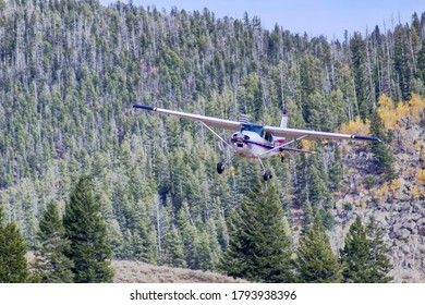 Single engine aircraft used in back-country flying