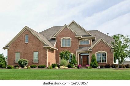 Single Family Brick Home