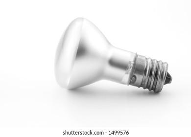 Single floodlight bulb
