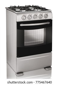Single Gas Range Cooker Four-Burner