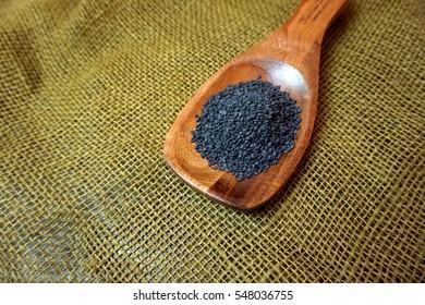 Single Husk Black Sesame