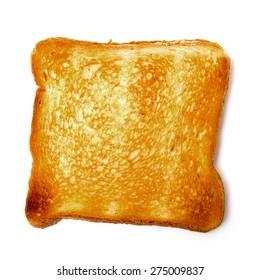 Single Loaf Toast, on white background