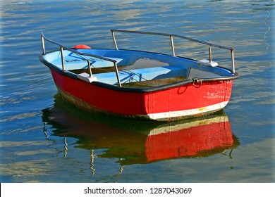 Single and lonely boat