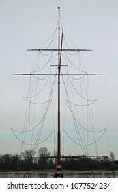 single mast tree