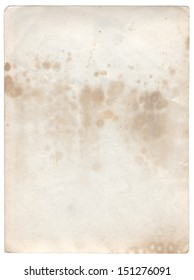Single old photo paper grunge background with space for text or image