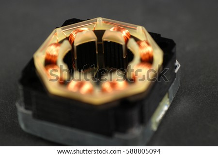 Single Phase Induction Motor Open Showing Stock Photo Edit Now