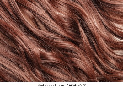 Single piece clip in dark auburn wavy synthetic hair extensions