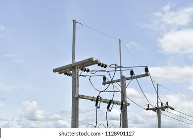 Similar Images, Stock Photos & Vectors of Electrical Utility Pole