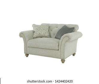 The single sofa with cushion