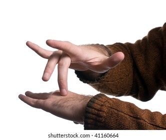 A single step in the Emotional Freedom Technique which involves tapping this point of your hand