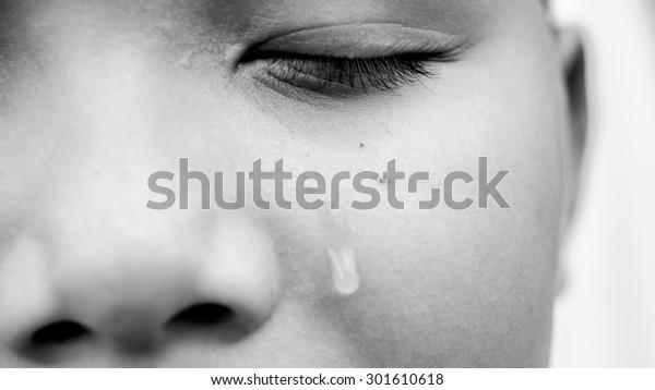 Una sola gota de lágrima
