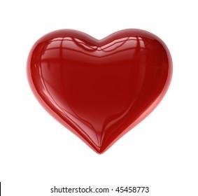 Single Valentine's Heart (Candy-like)