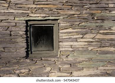 single window old building