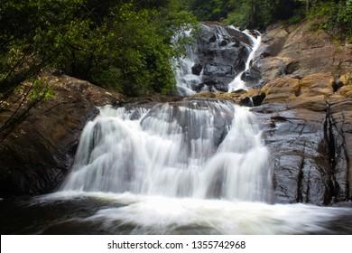 Sinharaja Waterfall Sri lanka