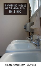 Sink restrictions