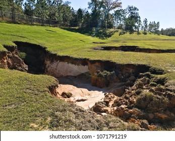 Sinkholes In Florida