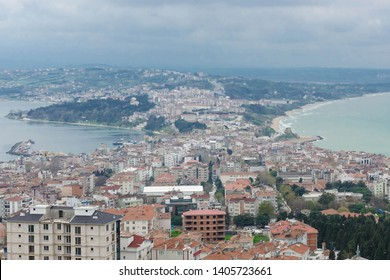 Sinop cityscape - Sinop is located at the most northern point of the Black sea region of Turkey