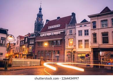 Sint Janskerk Church in Gouda. Gouda, South Holland, Netherlands.