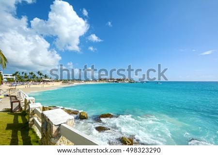 Sint Maarten beautiful Caribbean