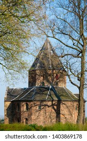Sint Nicolaas Church in park Valkhof, in Nijmegen, The Netherlands