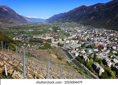 Sion Valley in Switzerland, Europe