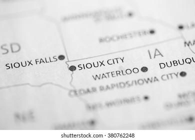 Sioux City. Iowa. USA