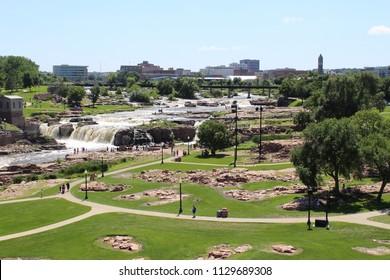 Sioux Falls Sd Falls Park